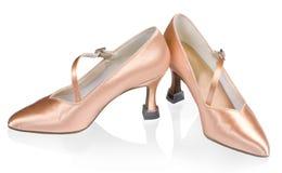 Sapatas bonitas para a dança de salão de baile imagens de stock royalty free