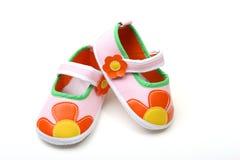 Sapatas coloridas Imagens de Stock