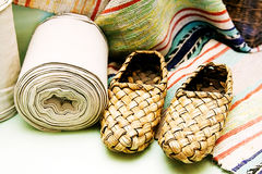 Sapatas da fibra Imagem de Stock