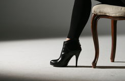 Sapatas da mulher Imagem de Stock Royalty Free