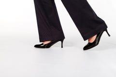 Sapatas da mulher de negócios Imagem de Stock Royalty Free