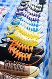 Sapatas da sapatilha Imagens de Stock