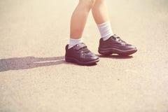 Sapatas das crianças Imagens de Stock