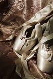 Sapatas de bailado foto de stock