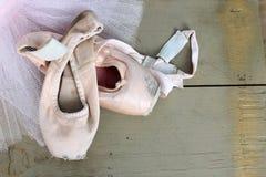 Sapatas de bailado Imagens de Stock