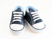 Sapatas de bebê Fotografia de Stock Royalty Free
