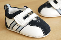 Sapatas de bebê Fotos de Stock Royalty Free