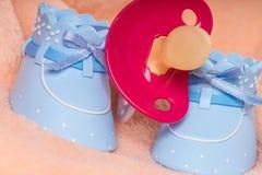 Sapatas de bebê Fotos de Stock