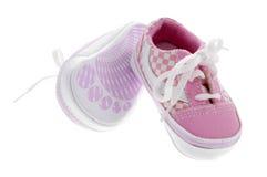 Sapatas de bebê fotografia de stock