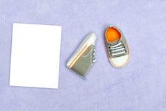 Sapatas de bebê Imagem de Stock Royalty Free