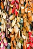 Sapatas de couro Foto de Stock Royalty Free