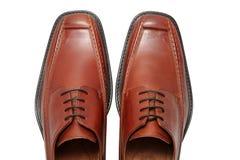 Sapatas de couro Imagem de Stock