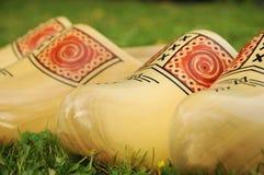 Sapatas de madeira Imagens de Stock Royalty Free