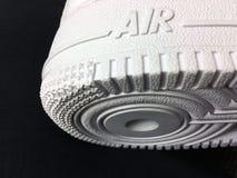 Sapatas de Nike Air Force One Foto de Stock Royalty Free