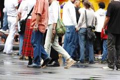 Sapatas de passeio Imagem de Stock Royalty Free