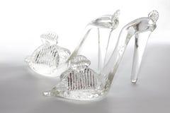 Sapatas de vidro Foto de Stock Royalty Free