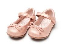 Sapatas do bebê fotografia de stock