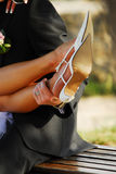 Sapatas do casamento Imagem de Stock Royalty Free