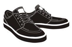 Sapatas do esporte, sapatilhas Imagem de Stock