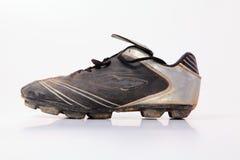 Sapatas do futebol Imagem de Stock Royalty Free