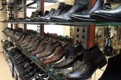 Sapatas do Mens foto de stock royalty free