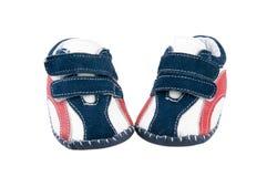 Sapatas dos esportes do bebê. fotos de stock royalty free