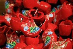 Sapatas holandesas pequenas tradicionais Fotografia de Stock Royalty Free