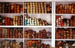 Sapatas indianas Fotos de Stock