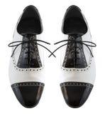 Sapatas masculinas do tango Fotos de Stock Royalty Free