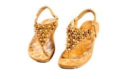 Sapatas, pares de sapatas fêmeas Imagem de Stock