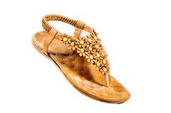 Sapatas, pares de sapatas fêmeas Imagens de Stock Royalty Free