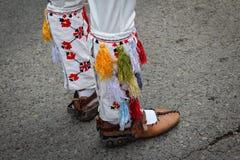 Sapatas tradicionais da dança imagem de stock