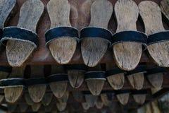 Sapatas turcas velhas Imagens de Stock