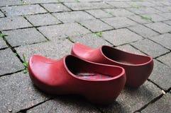 Sapatas vermelhas Foto de Stock Royalty Free