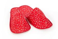 Sapatas vermelhas Imagens de Stock Royalty Free