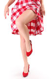 Sapatas vermelhas Imagem de Stock Royalty Free