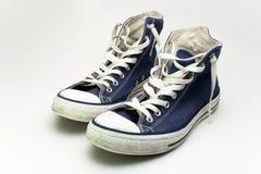 Sapatilhas azuis Foto de Stock
