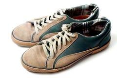 sapatilhas Bege-verdes Imagens de Stock Royalty Free