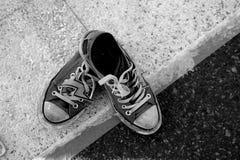 Sapatilhas da rua Fotografia de Stock