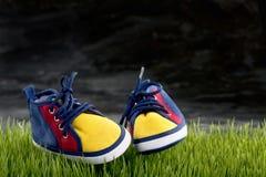 Sapatilhas das crianças Foto de Stock