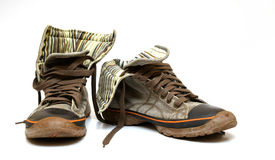 Sapatilhas usadas 2 Imagem de Stock