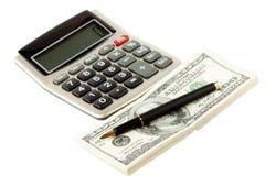 Saper leggere e scrivere finanziario Fotografie Stock Libere da Diritti