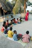 Saper leggere e scrivere in India Fotografie Stock