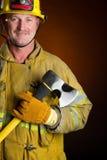 Sapeur-pompier Photographie stock