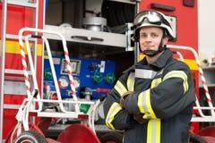 Sapeur-pompier Images stock