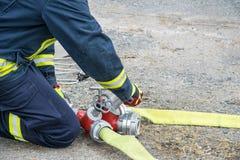 sapeur-pompier Image libre de droits