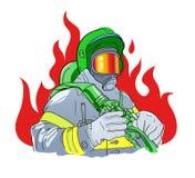 sapeur-pompier illustration libre de droits