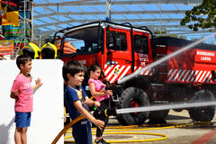 sapeur-pompier photos stock