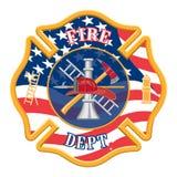 Sapeur-pompier Department Cross illustration de vecteur