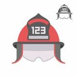 Sapeur-pompier Helmet illustration de vecteur